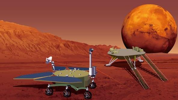 天問一號探測器飛行里程破4億公里,預計下月進入環火軌道
