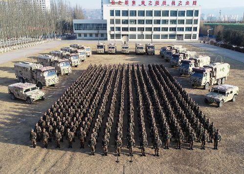 開訓即全訓實訓嚴訓 第76集團軍將士向戰行