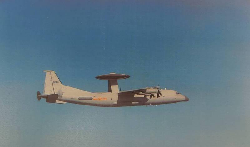 解放军军机资料图(图片来源:台媒)