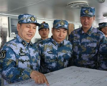 多國聯合編隊青島海域演習