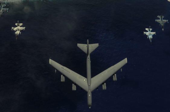 美俄係主力戰機作戰訓練照