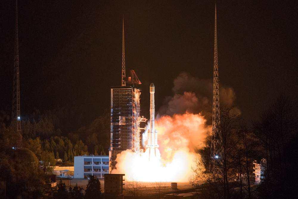 中国长征系列运载火箭再创发射新纪录