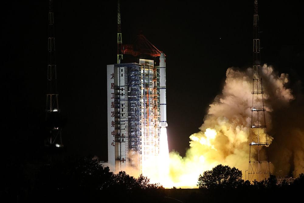 我國成功發射海洋一號D衛星