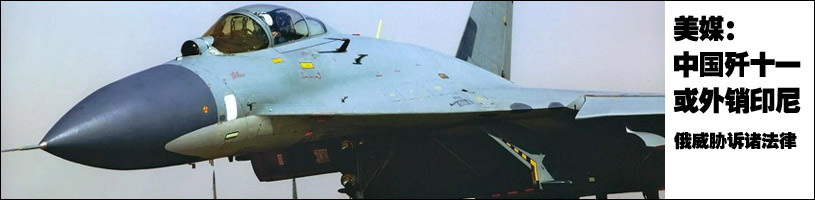 美媒稱中國殲-11可能外銷印尼