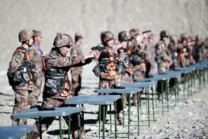 在高原,西藏军区用这项考核考出政治