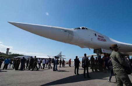 俄媒:俄将在加勒比海部署基地 图-160先去考察