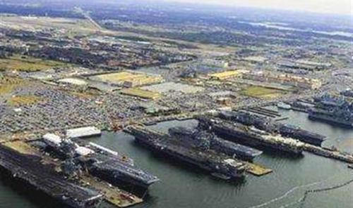 """诺福克海军基地——""""美国海军的灵魂""""所在"""