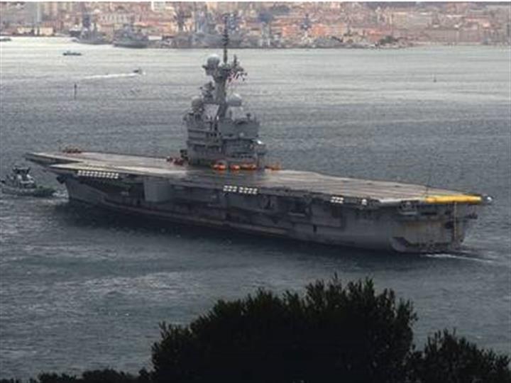 埃及与法国结束联合海军演习