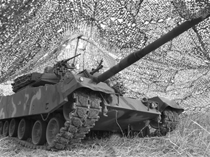 现代坦克如何隐身