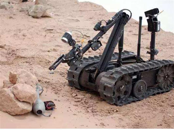 """""""灵巧机器人""""提升战斗力"""