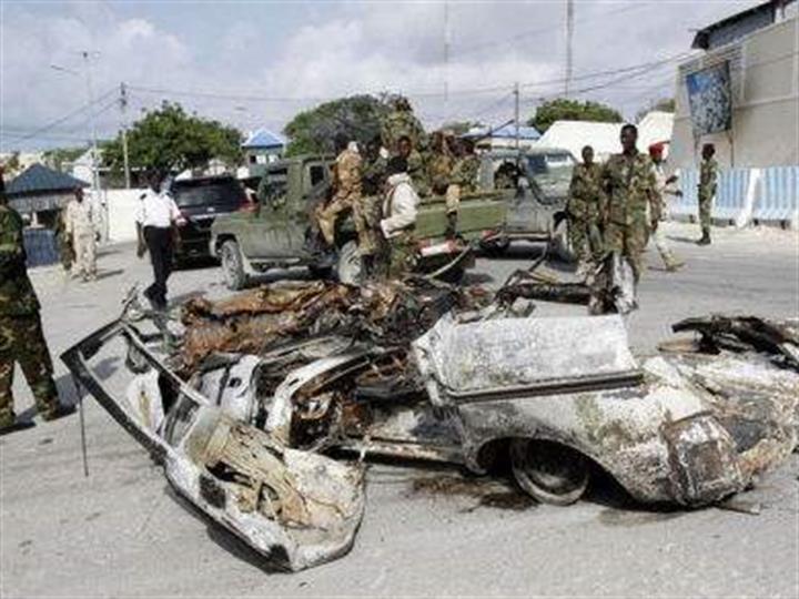 索马里总统府附近发生汽车炸弹袭击 致7人死亡