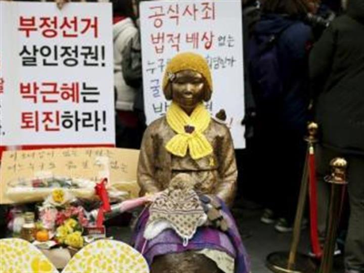 韩慰安妇受害者向法院提交呼吁文 望揭开事实真相