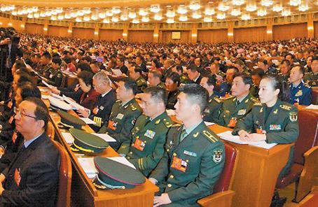 军队代表委员谈加强军队作风建设