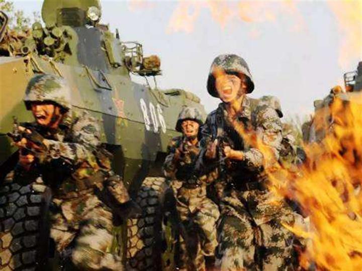 練兵備戰須融入更多信息化元素