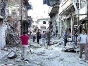 敘利亞反對派武裝炮擊哈馬省致7名平民死亡