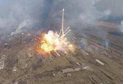 塞浦路斯北部一處武器庫爆炸起火