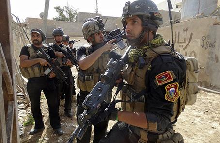 """伊拉克反恐部隊打死10名""""伊斯蘭國""""武裝分子"""
