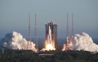 長徵五號B運載火箭首飛成功