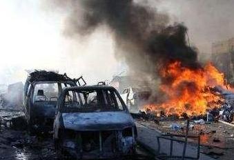 索馬裏發生路邊炸彈爆炸致5死15傷