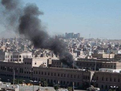 也門國防部一辦公地點遭導彈襲擊 至少7人死亡