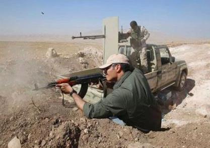 土軍在伊拉克北部打死10名庫爾德武裝人員