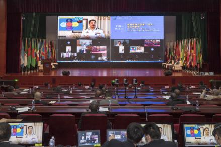 84國高級軍官、專家學者圍繞展開研討交流