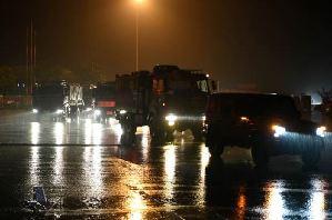 陆军第71集团军某合成旅紧急驰援安徽安庆抗洪抢险