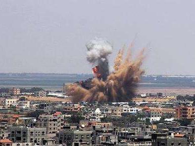以軍空襲加沙地帶哈馬斯軍事目標