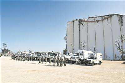 中國維和官兵完成貝魯特災後重建援助任務