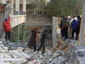 敘利亞反對派營地遭空襲 70多人死亡