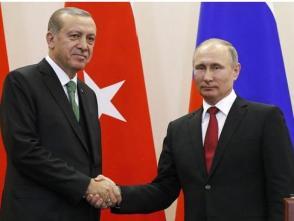俄土總統通電話討論敘利亞局勢等問題
