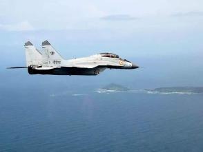 印度1架米格-29k戰機墜海 1名飛行員死亡