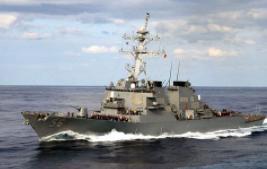 俄外交部對美軍艦進入俄領海表示強烈抗議