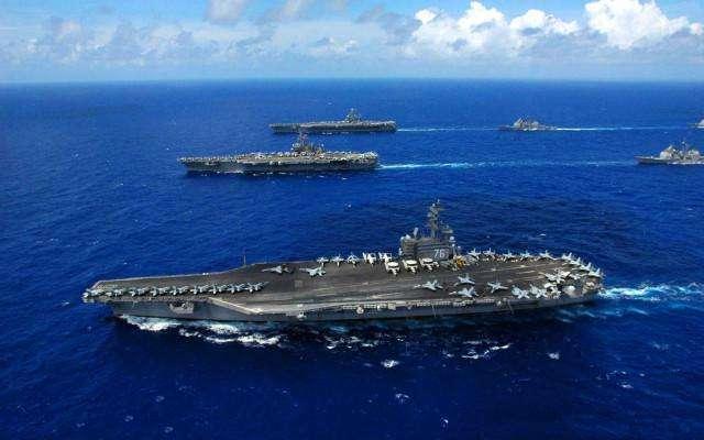 美軍稱航母作戰群返海灣