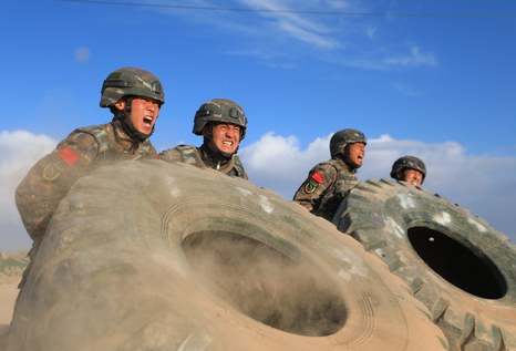 武警新疆總隊某機動支隊特戰一中隊官兵牢記領袖囑托鍛造尖兵