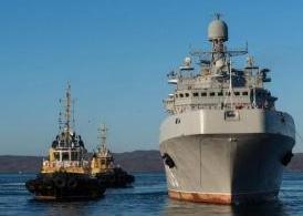 俄一艘6000噸級大型戰艦入列 專門用于執行兩棲作戰任務