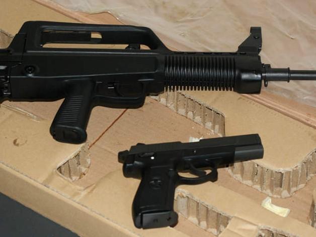 開箱細看外貿97步槍 用北約制式M16彈夾