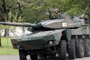 """高清:日本防衛省展示""""13型機動坦克"""""""
