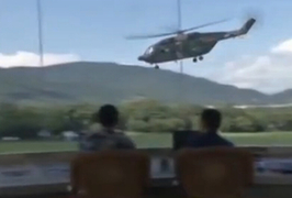 駐港部隊舉行三軍聯合軍演