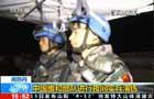 南蘇丹:中國維和部隊進行夜間實兵演練