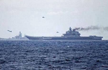 """世界航母之""""最"""":最孤獨的""""庫茲涅佐夫海軍元帥""""號"""