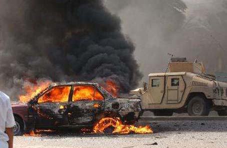 巴格達市中心發生汽車炸彈襲擊致5死10傷