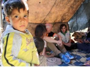 探訪敘利亞流離失所者家庭
