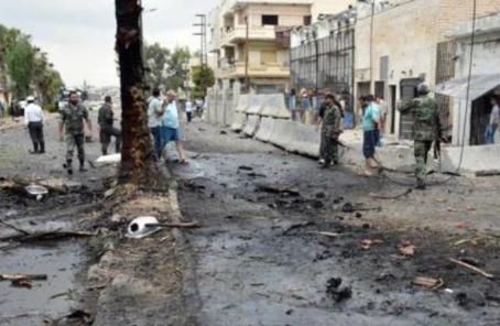"""俄軍方稱向敘境內發射導彈 摧毀""""伊斯蘭國""""設施"""