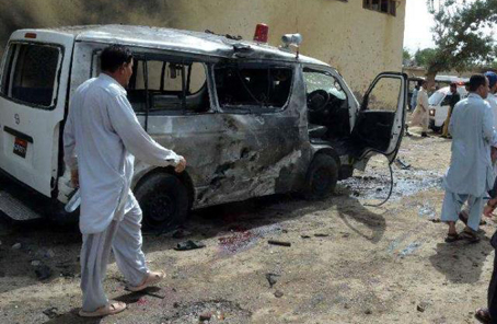 巴基斯坦西南部自殺式襲擊致6死20傷