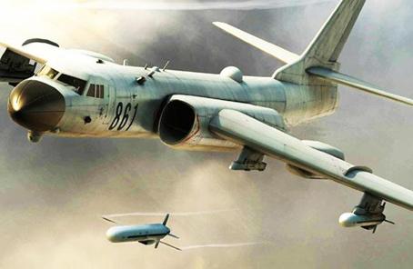 """""""戰神""""轟-6K出徵""""航空飛鏢-2017"""""""