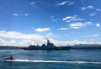 讓和平友誼之聲傳得更遠:隨中國海軍遠航訪問編隊訪問側記