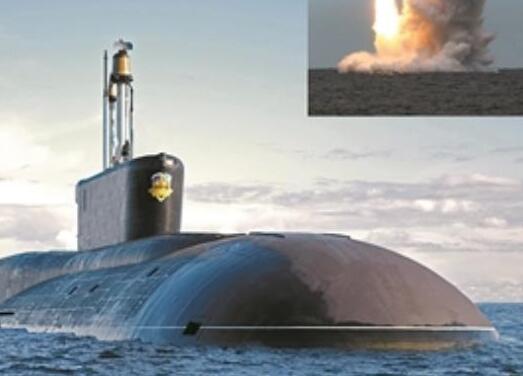 """俄""""北風之神-A""""級彈道導彈核潛艇首艇下水在即"""