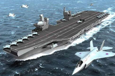 """易成攻擊目標:英國最新航母被譏為""""消遣"""""""