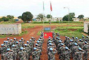 中國維和工兵完成聯合國基礎設施配套任務獲讚